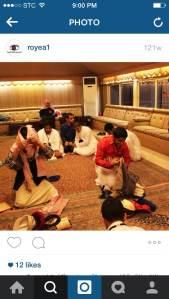 صورة من نادي رؤية لمسابقة الملابس لمكفوفين مراهقين